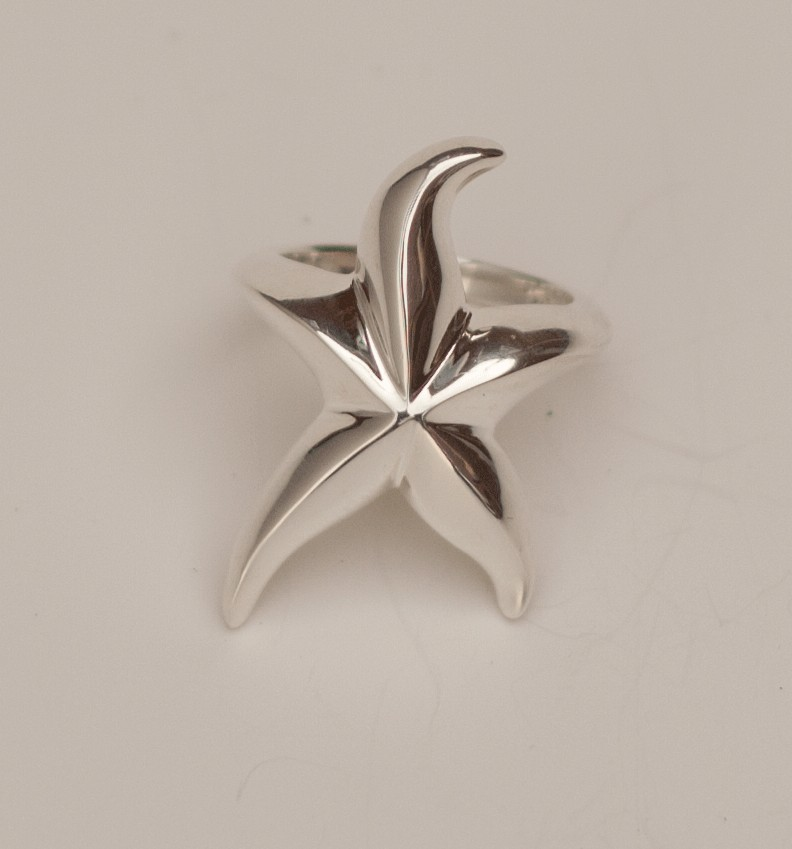 Dancing Starfish Ring