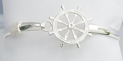 Ships Wheel Bangle