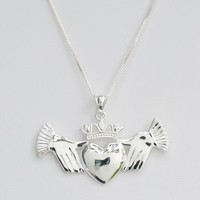 Large Claddagh Pendant