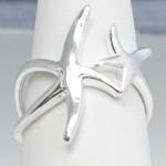 Double Starfish Ring