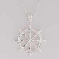 Ship's Wheel Pendant