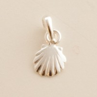 Mini Scallop Shell Pendant