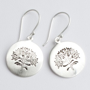 Circle Tree of Life Earrrings