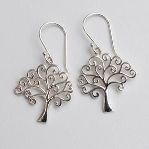 Swirly Tree of Life Earrings