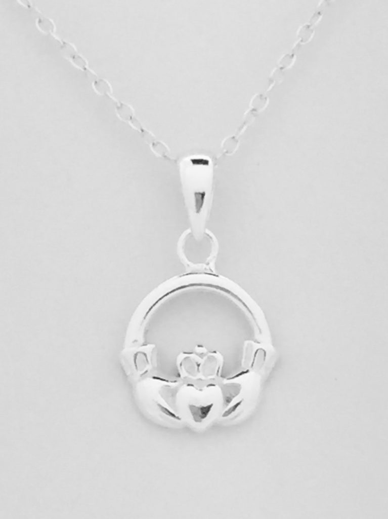 Mini Claddagh Pendant