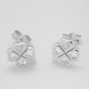 Open Clover Stud Earrings