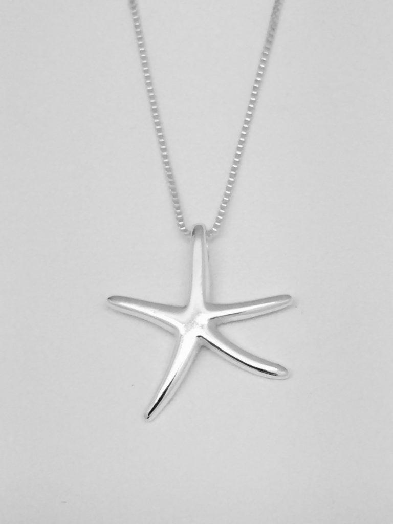Classic Dancing Starfish Pendant