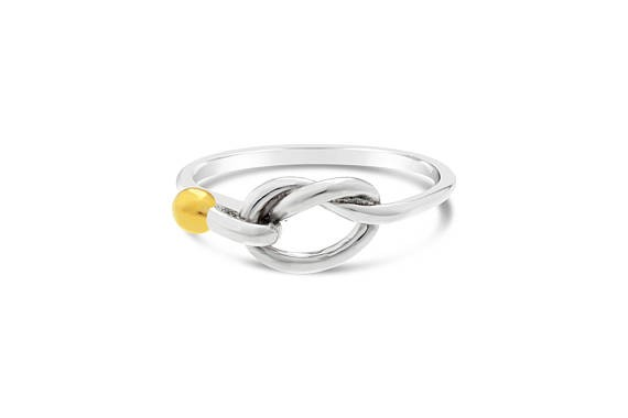 Knot Ring Two Tone