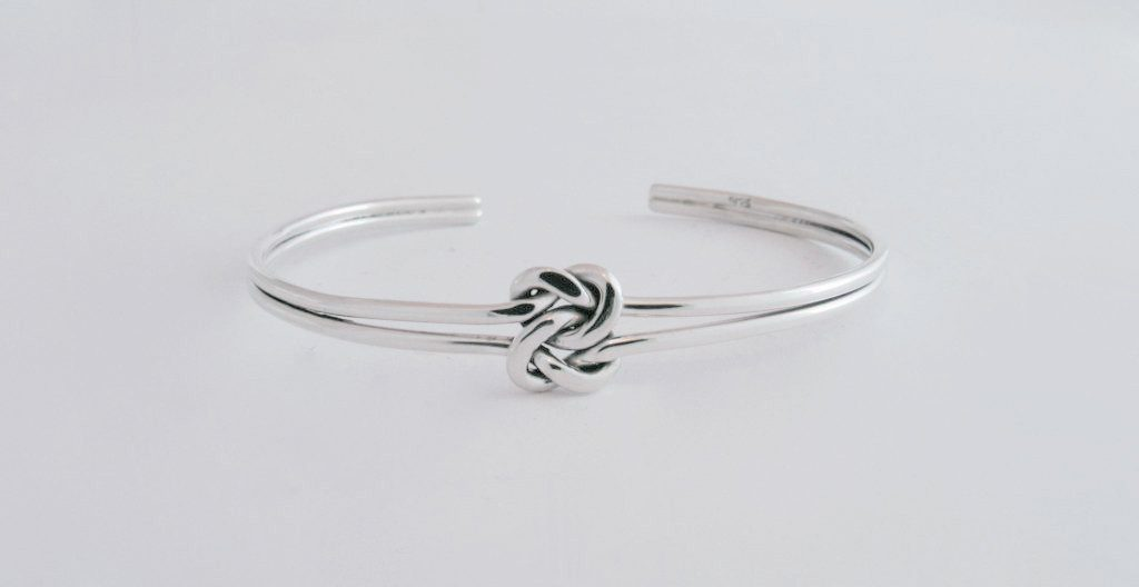Nautical Friendship Knot Bangle