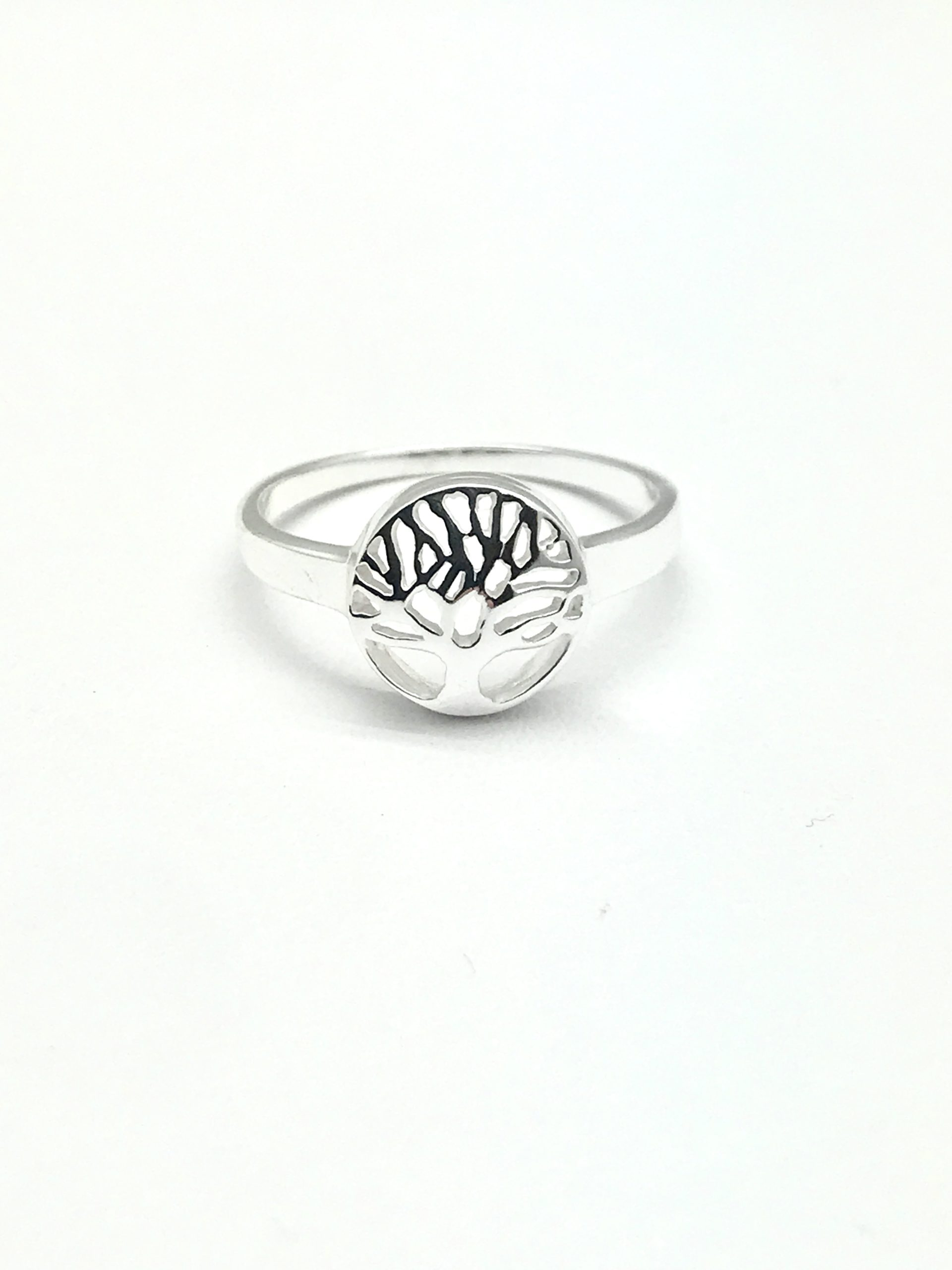 Mini Tree Of Life Ring The Silver Seahorse